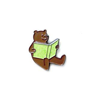 Literacy Bear Pin