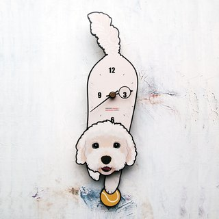 D-78 Maltese - Pet's pendulum clock