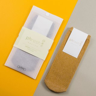 Argon Argon - Warm and Warm Women's Socks - Yellow