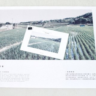 Landscape Survey + log posters Postcards Day6