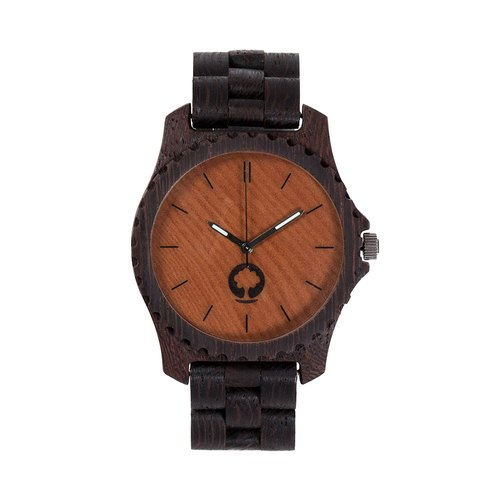 Plantwear – URBAN SERIES – WENGE WOOD TIMBER WRIST WATCH