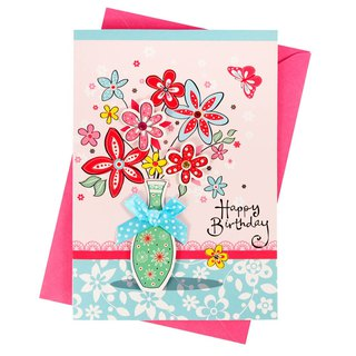 A surprise that fills you today [Hallmark-Handmade Card Birthday Blessing]