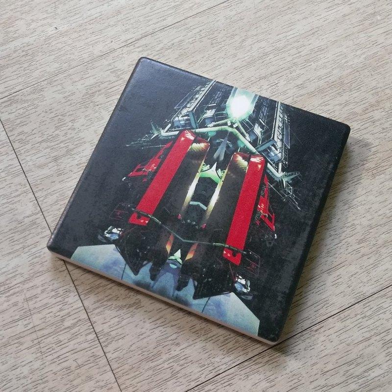 【太空基地吸水陶瓷杯墊】 療癒 送禮物 生日 情侶 聖誕