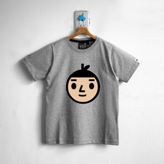 【BestFriend Kids】 Jumbo BoyFriend Logo T-Shirt / 04-GRAY Kids