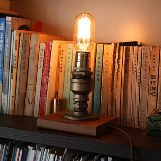 New Valve Carpenter Industrial Style Creative Table Lamp Edison Decorative Table Lamp