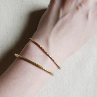 Limited. Fine brass bracelet. Two optional