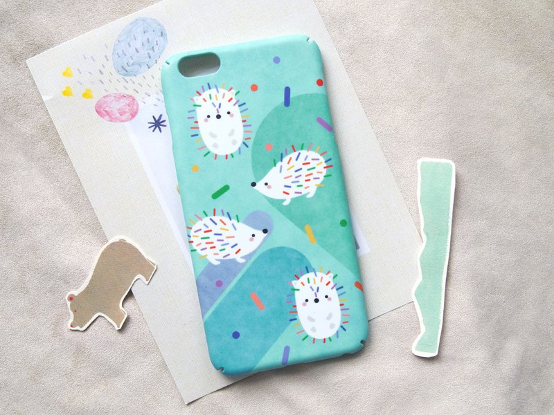 Hedgehog iPhone case / Samsung Galaxy case 手機殼
