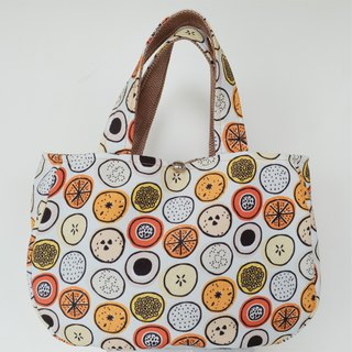 Smile bag bagel music printing