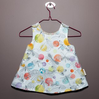 Summer Garden II - double-sided dress