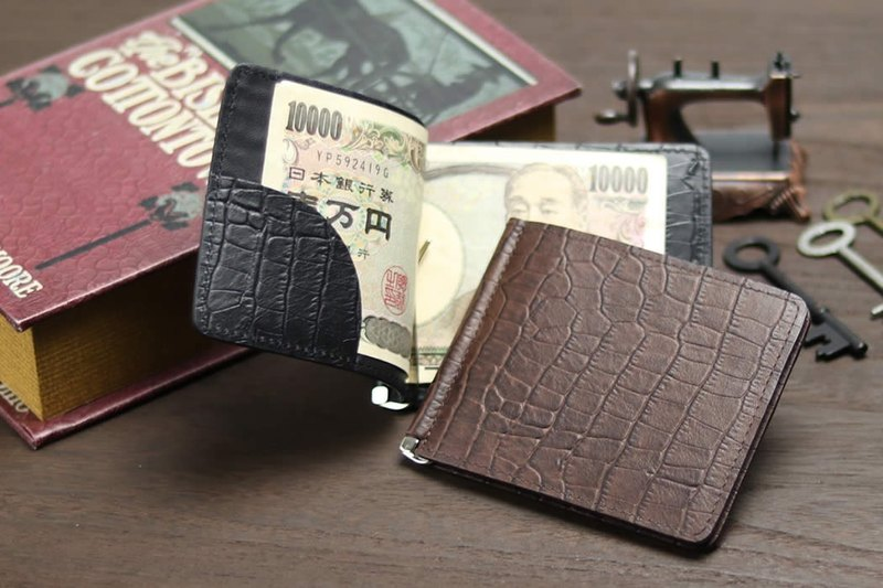 革職人 LEATHER FACTORY【VARIOUS Money Clip Fold Wallet】Made in Japan