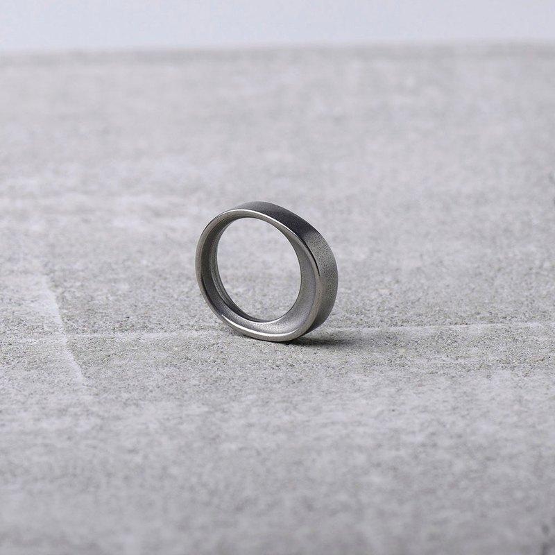 FRAMEWORK RING 316鋼製戒指_鋼色