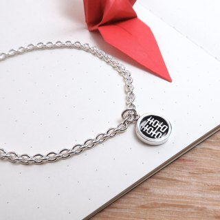 Successful Double Happiness 囍 word 925 sterling silver bracelet