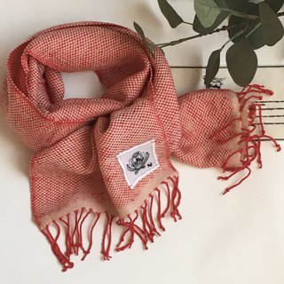 100%Cashmere Hand woven Scarf