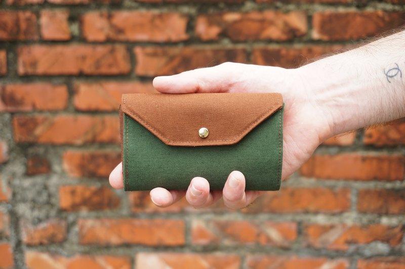 男 短夾 – 錢包 – 多色可選 / 手工 / 有分層和零錢袋 - 無塑包裝