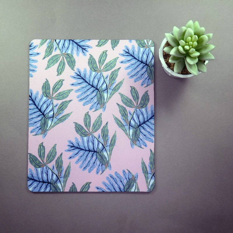 Tropical Mouse Pad Floral Desk Decor