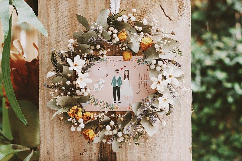 Kerkerland Postcard Wedding Invitations Designer Kerkerland