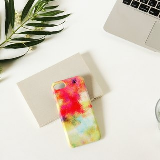 [Order Production] iPhone / Android Case | Red fog and yellow sky's smart case
