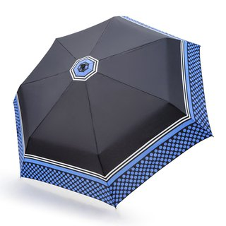Safe, non-rebound, windproof, anti-UV automatic umbrella - sparkling