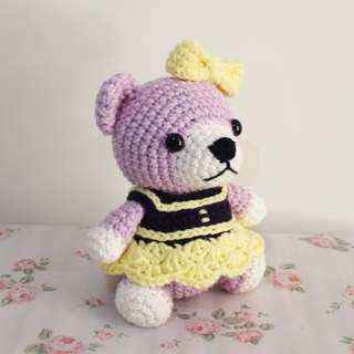 Ms. Bear Bear Mercy Hand Knit