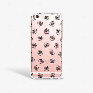 Envy Eye iPhone Case, Evil Eye iPhone Case, iPhone 6 Case Clear, iPhone 6S Case Cover, Hipster iPhone Case