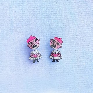 Fairy tale series - Puttet- earrings