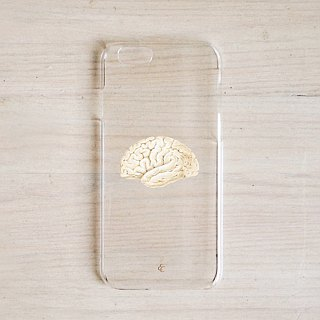The brain is a great stuff organ phone case