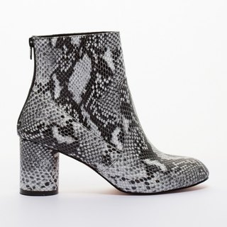 [] Saint Landry sexy snake boots - black and white
