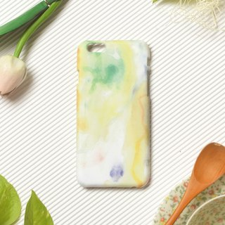 Painter overturned watercolor - iPhone 6s original mobile phone case / protective cover / limited time offer / merchandise clear