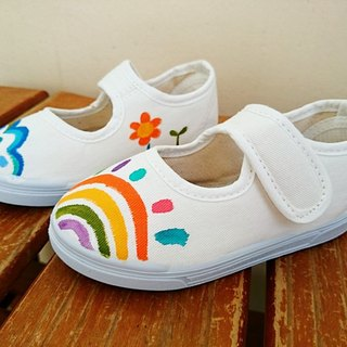 Summer walking hand-painted shoes | canvas shoes | doll shoes | children's models | cute wind
