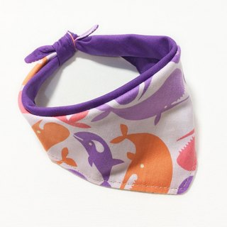 Dogs Exclusive Scarf - Customized (Small Dog) - Dolphin