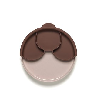 Miniware Smart Divider Plate Set - Chocolate