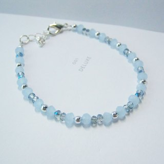 Sky in the Summer - Blue Bracelet / Translucent Blue / Metallic Blue