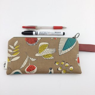Birds and Hedgehogs - Mobile Phone Bags / Pencil Cases / Wallets / Universal Bags