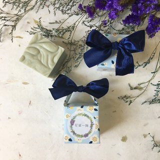 Blue Ribbon Handmade Soap Gift