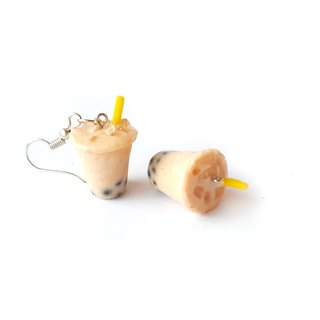 Bubble milk tea earring