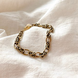 Simple- Brass bracelet