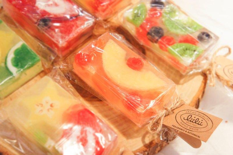 【日本獨家水果香皂冰棒】造型香皂 手工香皂 送禮