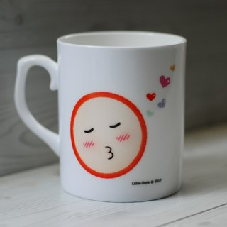 [Bone china mug] everywhere love (customized)