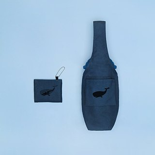 YCCT Eco Beverage Bag Cover - Whale - Patent Storage is not afraid to forget