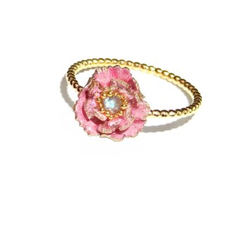 Handmade jewellery jewelry 珐琅 series blossom rich ring pre-order money