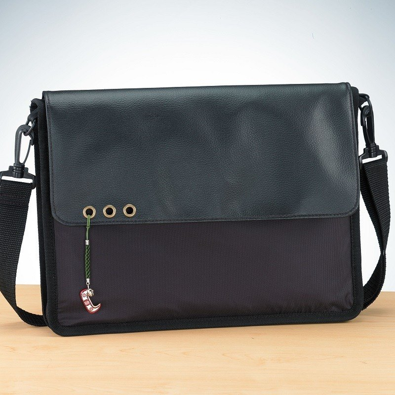 lEONSE | Versatile slim saddle bag – Metal ring
