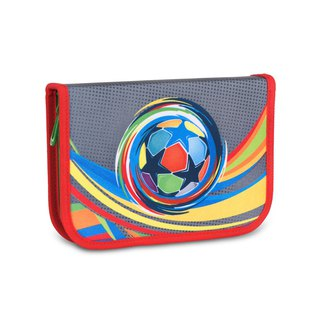 Tiger Family Aristocratic Multifunctional Creative Stationery Bag - Colorful Football