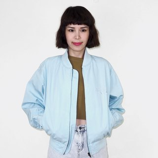 Light blue cotton vintage jacket jacket BM3016