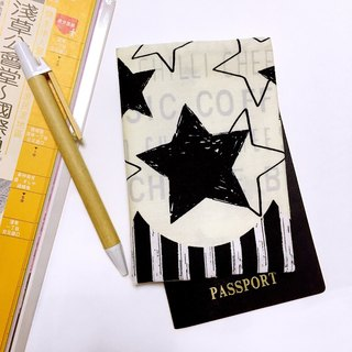 Limited cloth money black passport passport holder passport holder