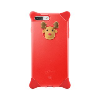 Bone / iPhone 8 Plus / 7 Plus Bubble Protector - Elk