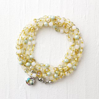 Wrap Bracelet (Yellow Mix)