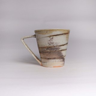 Chai burning porcelain soil black soil twisted coffee cup