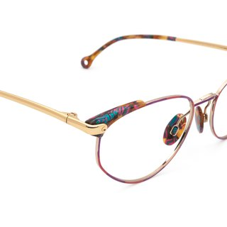 1990's cute mirror ankle antique glasses