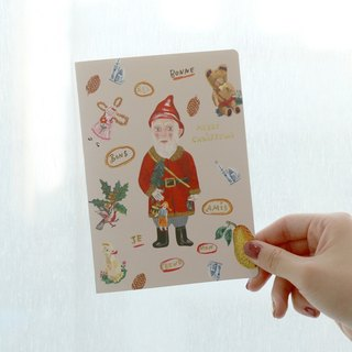 7321Design-NL Natalie Christmas Card-F03,7321-85130