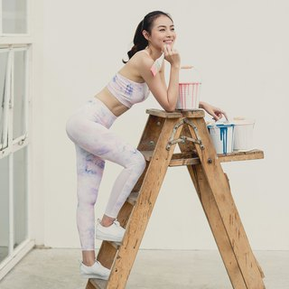 Active Tights - Paint print